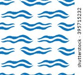hand drawn seamless pattern... | Shutterstock . vector #395715232