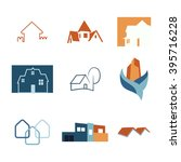 real estate web icons set....