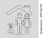 insurance concept design  | Shutterstock .eps vector #395736745