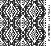 black and white geometrical... | Shutterstock .eps vector #395751538