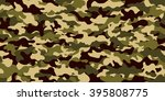 camouflage background. seamless ... | Shutterstock .eps vector #395808775