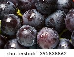 Juicy Black Grapes