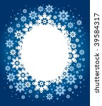 christmas background with... | Shutterstock .eps vector #39584317