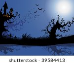 wallpaper for halloween... | Shutterstock .eps vector #39584413