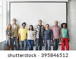 people friends diversity... | Shutterstock . vector #395846512