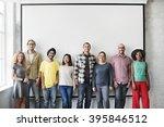 people friends diversity... | Shutterstock . vector #395846512