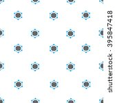 global frame vector seamless... | Shutterstock .eps vector #395847418