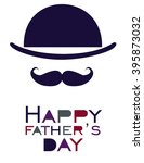 father day greeting card.... | Shutterstock .eps vector #395873032