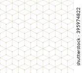 hexagonal grid design vector... | Shutterstock .eps vector #395974822