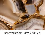 Piece Of Polished Agate Textur...