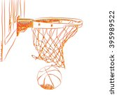 scoring the winning points at a ... | Shutterstock . vector #395989522