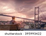 Bosphorus Bridge In Istanbul...