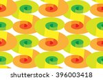 vector illustration. spirals... | Shutterstock .eps vector #396003418