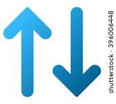 flip vertical vector toolbar... | Shutterstock .eps vector #396006448