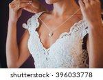 wedding. jewelry. the bride in... | Shutterstock . vector #396033778