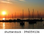 sundown in novigrad  croatia | Shutterstock . vector #396054136