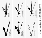 clock hands | Shutterstock .eps vector #396098575