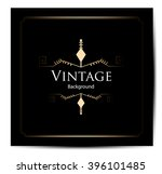 vintage background  antique ... | Shutterstock .eps vector #396101485