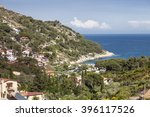 the village fetofeia at the... | Shutterstock . vector #396117526