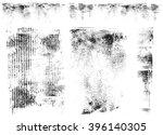 cardboard vector impressions | Shutterstock .eps vector #396140305