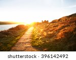 Sunlit Coastal Trail Walking T...