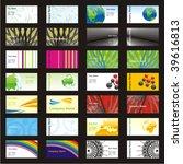 fully editable vector visit... | Shutterstock .eps vector #39616813