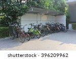 bikes in parking   Shutterstock . vector #396209962
