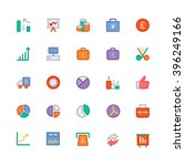 business vector icons 6 | Shutterstock .eps vector #396249166