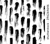black and white abstract hand... | Shutterstock .eps vector #396264646