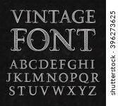 Vintage Patterned Letters....