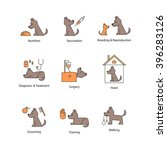 vector icon design for pet...   Shutterstock .eps vector #396283126