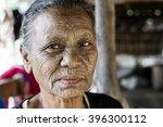 mrauk u  myanmar   january 30 ... | Shutterstock . vector #396300112