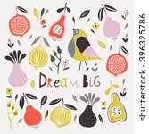 dream big. print design | Shutterstock .eps vector #396325786