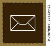 envelope mail icon. email... | Shutterstock .eps vector #396334438