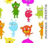 seamless pattern  litter... | Shutterstock .eps vector #396335716