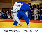 Battle Of Two Fighters Judo...