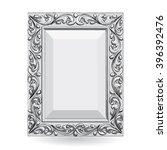 frame  vector frame with floral ... | Shutterstock . vector #396392476