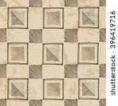 tribal vector seamless pattern. ... | Shutterstock .eps vector #396419716