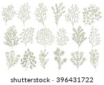 vector drawing. collection of... | Shutterstock .eps vector #396431722