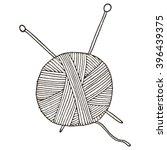 Ball Of Yarn For Knitting....