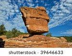 Balanced Rock Formation At...