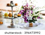 afternoon tea ceremony  beach... | Shutterstock . vector #396473992