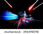 Small photo of Colorful speed motion background