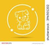dog doodle   Shutterstock .eps vector #396501202