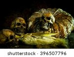 Still Life With Skull And...