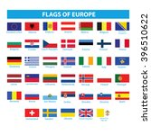 flags of europe | Shutterstock .eps vector #396510622
