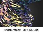 abstract 3d rendering of... | Shutterstock . vector #396533005