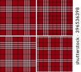 tartan seamless pattern. trendy ... | Shutterstock .eps vector #396536398