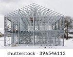 the framework of the modern... | Shutterstock . vector #396546112