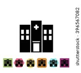 hospital icon | Shutterstock .eps vector #396567082